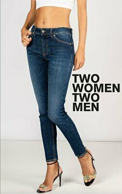 £58.20 • Buy NWT - Two Women In The World Italian 'Marilyn' High Rise Jeans  -Size 31