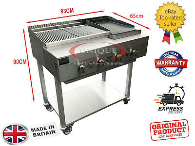 £849 • Buy 4 Burner Gas Charcoal Bbq Grill / Char-grill Heavy Duty For Commercial Use