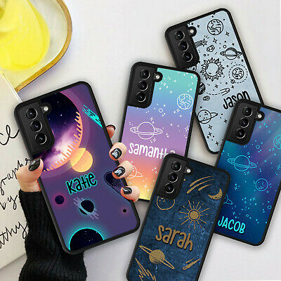 £5.98 • Buy Personalised Galaxy Space Star Phone Hard Case Cover For Samsung S21 Plus Ultra
