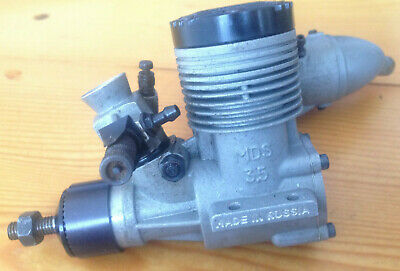 £45 • Buy Mds 3.5  21 With Exhaust Abc 2 Stroke Nitro Fuel  Engine With Muffler