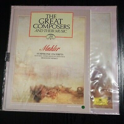 £2.30 • Buy Mahler - The Great Composers 20. Symphonic Excerpts Vinyl Lp And Book