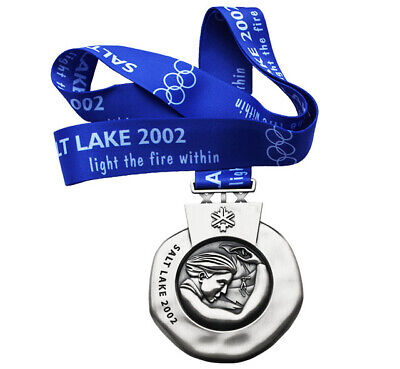 £39.83 • Buy Silver Medal Of The Winter Olympic Games In Salt Lake City 2002