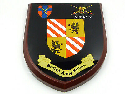 Baor British Army Hohne Classic Hand Made In Uk Regimental Mess Plaque • 19.99£