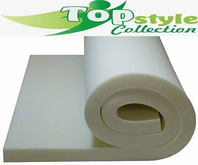 Upholstery White Foam High Density Foam Cushions Seat Pads Cut To Any Size • 7.60£