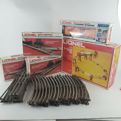 $89.99 • Buy Lionel 027 Gauge Model Train Mixed Lot Tracks Trestle Freight Car Switches VTG