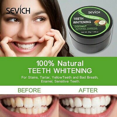 AU16.95 • Buy Activated Charcoal Teeth Whitening 100% Natural Organic Coconut Shell Powder