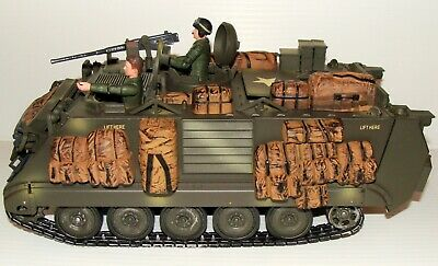 $275 • Buy 1:18 Utimate Soldier U.S Army M113A2 Armored Personnel Carrier APC W/ Tanker