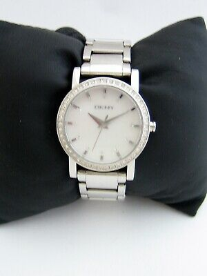 Dkny Womens Lexington Watch Ny4791 Stainless Steel Bracelet Crystals Genuine • 19.99£