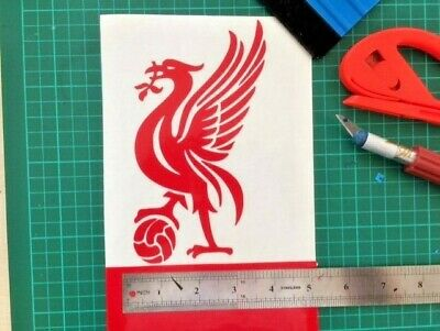 Liverpool Liverbird With A Football, City Of Liverpool Wall Art Decals • 2.95£