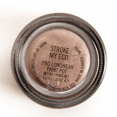 MAC-Paint Pot~STROKE MY EGO~Pale Taupe Shimmer Primer Cream Eyeshadow WORLDWIDE • 43.06£