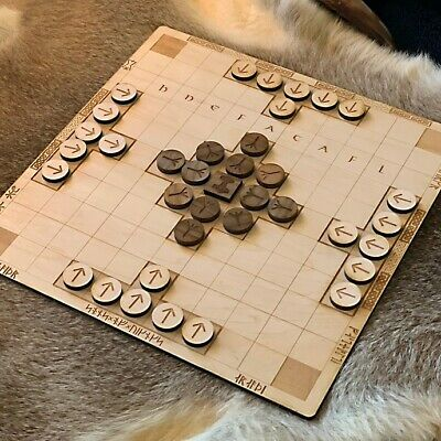 AU51.64 • Buy Hnefatafl Viking Chess Wooden Game Board And Pieces - Made By Sons Of Vikings