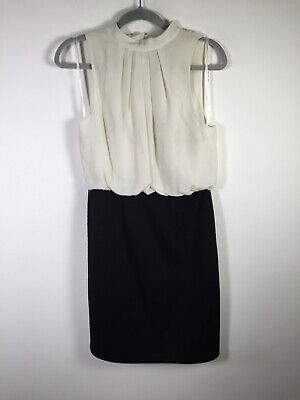 AU24.95 • Buy Forever New Womens Black And White Contrast Pencil Dress Size 10 Sleeveless