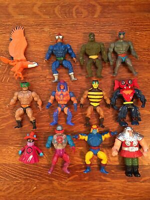 $125 • Buy Vintage 1980's He-man Masters Of The Universe/motu Action Figures Lot Of 12!