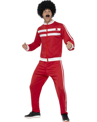AU37.99 • Buy Red Scouser Tracksuit Mens Costume