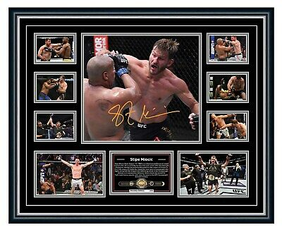 AU99.99 • Buy Stipe Miocic Ufc Signed Photo Poster Limited Edition Framed Memorabilia