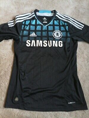 Chelsea Football Shirt Adidas Small Away Soccer Jersey London 2011 2012 6G • 34.99£