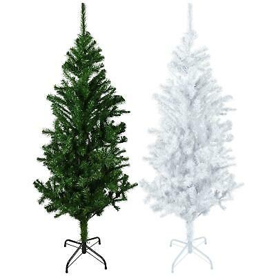Christmas Tree Xmas 4ft 5ft 6ft 7ft Pop Up With Metal Stand Home Decor Holiday • 11.95£