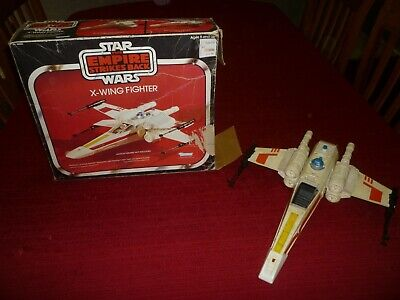 $ CDN217.73 • Buy Star Wars Vintage ESB X-Wing Fighter With The Original Box!