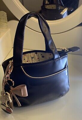£28 • Buy Radley Grab Bag. Small Brown & Cream. Leather With Quirky Poker.  Design Lining