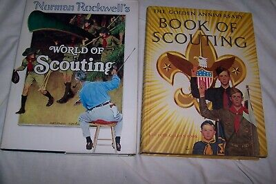 $ CDN36.34 • Buy Norman Rockwell's World Of Scouting 1977 & 1959 Golden Anniversary Scouting Book