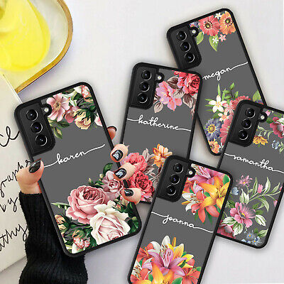 £5.98 • Buy PERSONALISED VINTAGE FLOWER Phone Hard Case Cover For Samsung S20 S21 Plus Ultra