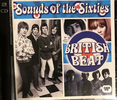 Sounds Of The Sixties - British Beat - Time Life Music - 2cd Set • 12.99£