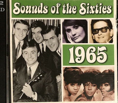 TIME LIFE Sounds Of The Sixties 1965 2-CD Hollies Beach Boys Fortunes Etc • 9.99£