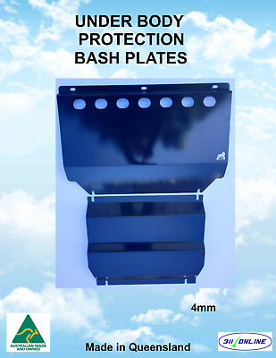 AU158 • Buy BASH PLATE SET 4mm Heavy Duty Compatible With Mitsubishi Triton ML/MN 2006-2015