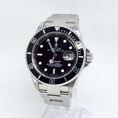 $ CDN15838.80 • Buy Rolex Submariner Date 16610 Box And Papers 2006 Full Set