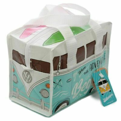 VW Campervan Surfs Up Recycled Lunch Bag Official Licensed Product New • 3.99£