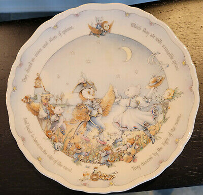 """£9.34 • Buy Royal Doulton The Owl And The Pussy-cat 8 ½"""" Collectors' Plate 1987"""