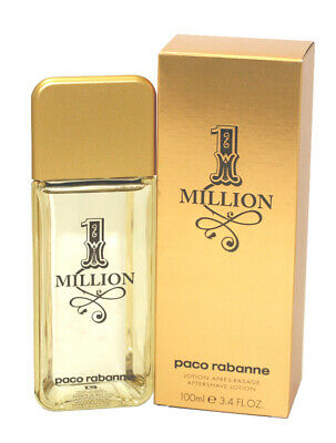 $ CDN45.79 • Buy Paco Rabanne 1 Million Aftershave Lotion For Men 3.4 Oz/ 100 ML