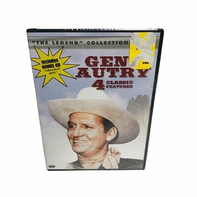 £7.96 • Buy Gene Autry - Legend Collection Series - DVD & CD - NEW - SEALED