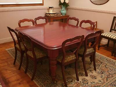 AU500 • Buy Mahogany Dining Table With 8 Chairs