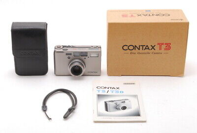 $ CDN2531.39 • Buy 【TOP MINT In BOX】 Contax T3D Double Teech Overhalled From Japan 1096