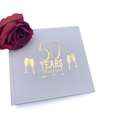 £13.99 • Buy 50th Anniversary Gift Photo Album For 50 X 6 By 4 Photos