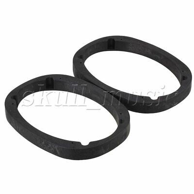 AU47.41 • Buy 2PCS Speaker Fitting Spacer Adapter Mount Oval Solid Plastic 6 X 9 Inches