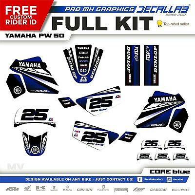 $ CDN54.43 • Buy YAMAHA PW50 MOTOCROSS MX Graphics Decals Stickers Decallab