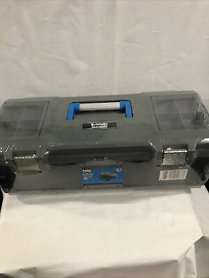 Bnwt Macallister 26  Metal And Palstic Heavy Duty 13 Compartment Tool Box • 22.95£