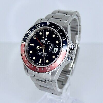 $ CDN25560.15 • Buy Rolex GMT Master II 16760 Box And Papers Fat Lady