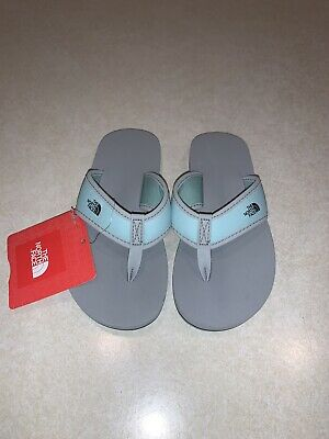 The North Face Youth Girls Base Camp Flip Flops Size 12 New With Tags • 20.74£