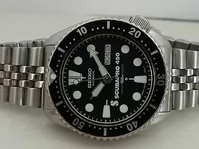 $ CDN169.34 • Buy Vintage Seiko Diver 6309-729a Scubapro Mod Automatic Mens Watch Sn 7n5194