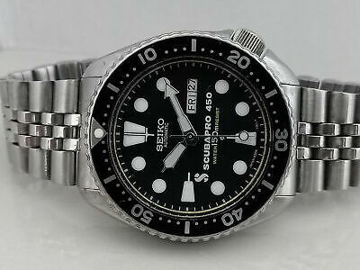 $ CDN151.70 • Buy Lovely Vintage Seiko Diver 6309-7290 Scubapro Mod Automatic Mens Watch Sn 813843