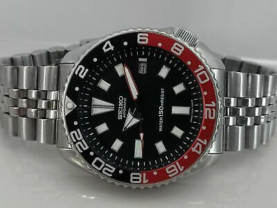 $ CDN144.64 • Buy Vintage Black Face Mod Seiko Diver 7002-7000 Automatic Men's Watch 552326