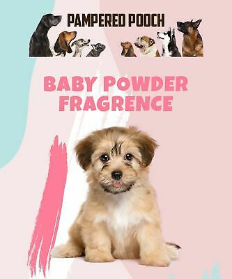 2 Bottles Of 100ml Dog Spray BABY POWDER Cologne - Grooming Spray - Pet Perfume  • 9.99£