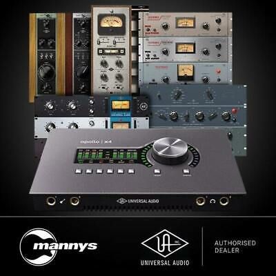 AU3999 • Buy Universal Audio Apollo X4 Audio Interface (Heritage Edition)