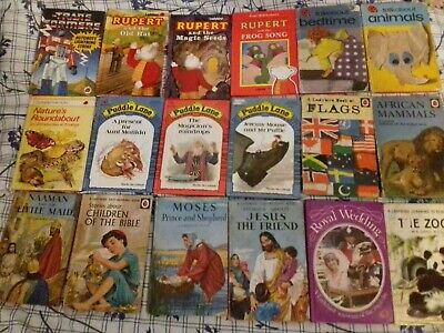 15 X Vintage Ladybird Books  Job Lot / Bundle LOT 2 • 15£