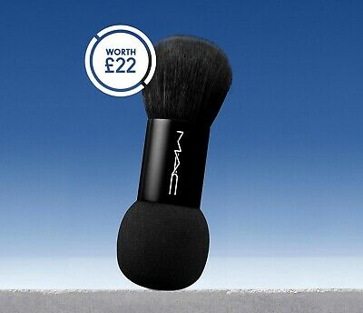 £16.99 • Buy MAC Cosmetics Brand New Dual Ended Foundation Brush