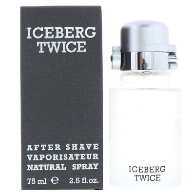 Iceberg Twice ASL 75ml After Shave Lotion For Men New & Sealed  • 15.90£