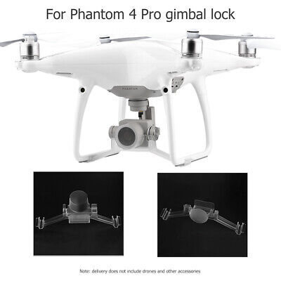 AU10.52 • Buy Clear Gimbal Stabilizer Lock Lens Cover Drone Accessories For DJI Phantom 4 Pro